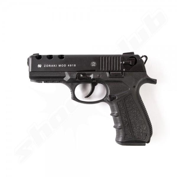 Schreckschußpistole Zoraki 4918 brüniert