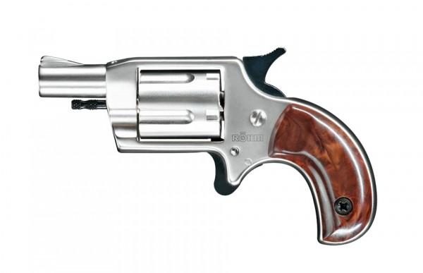 Schreckschußrevolver Röhm Little nickel 6mm knall