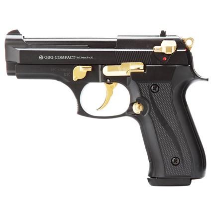 Schreckschußpistole Ekol Compact schwarz/gold