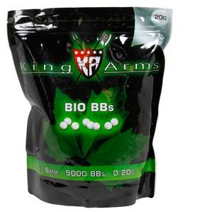 King Arms BIO BBs 0,25g 4000er Beutel
