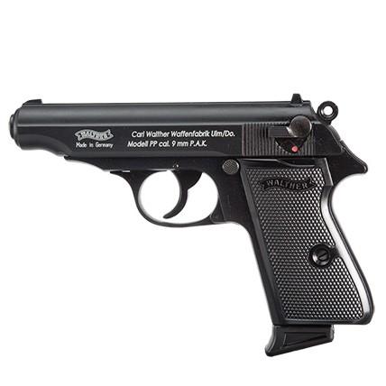 Schreckschußpistole Walther PP brüniert 9mm P.A.K