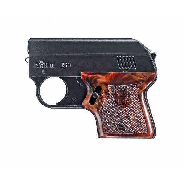 Schreckschußpistole Röhm RG 3 brüniert 6mm knall
