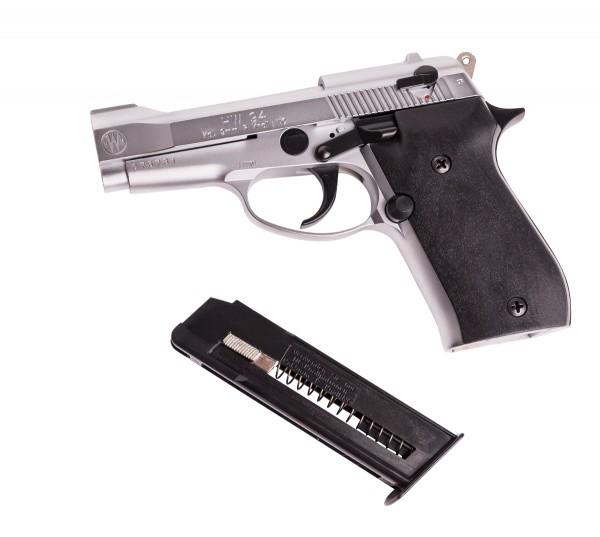 Schreckschußpistole Weihrauch HW 94 nickel 9mm R.K