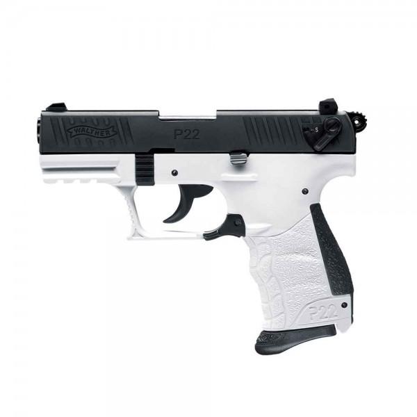 Schreckschußpistole Walther P 22Q Chess 9mm P.A.Knall